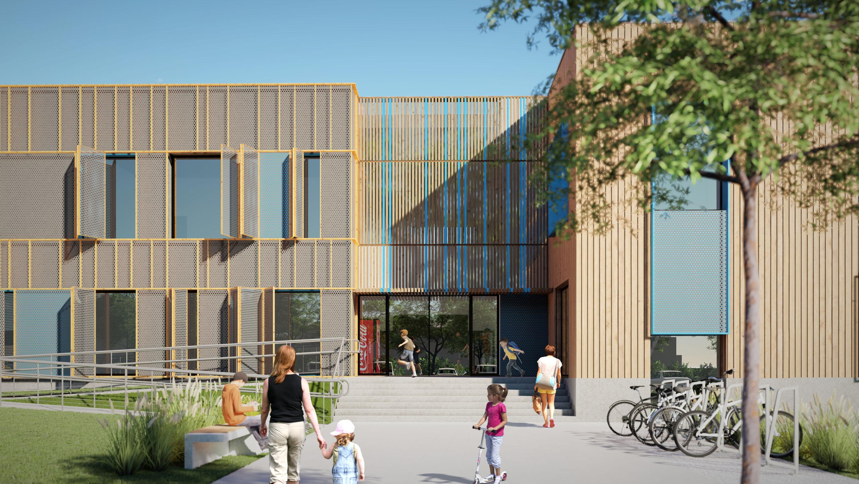 Opracowanie koncepcji budynku szkoły podstawowej i przedszkola publicznego w Ostrowi Mazowieckiej